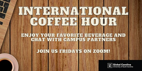 International Coffee Hour with GSA: 10/9 tickets
