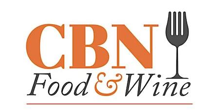 CBN FOOD&WINE ven 2 ottobre h18 biglietti