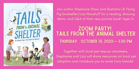 Zoom Party: Tails from the Animal Shelter tickets