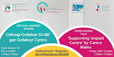 Open Doors Talk: 'Supporting Unpaid Carers' by Dawn Owen of Carers Wales