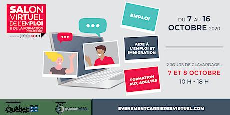 Salon virtuel de l'emploi et de la formation continue billets