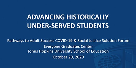 PAS Solutions Forum: Advancing Historically Under-served Students tickets