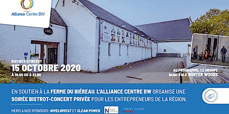 Concert  Bistrot 21h00 au profit de LA FERME du Biéreau billets