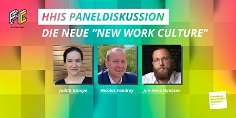 HHIS 2020 Paneldiskussion - Die neue New Work Culture Tickets
