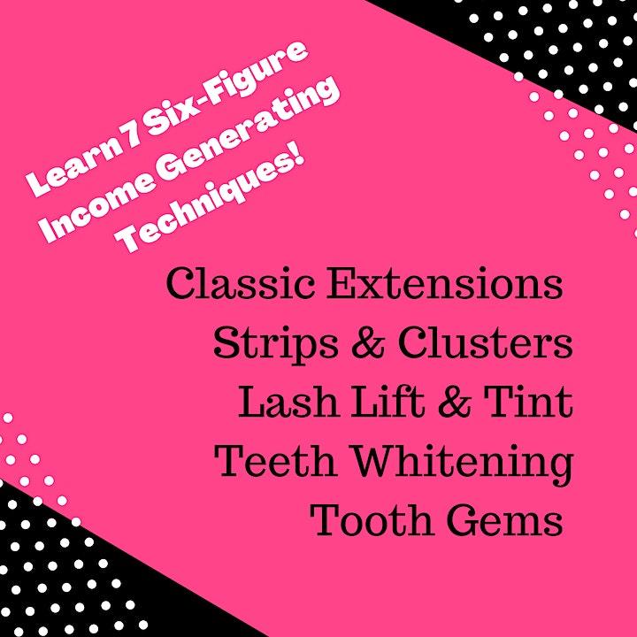 Chicago IL, MEGA TOUR Everything Eyelashes, Teeth Whitening /Tooth Gems image