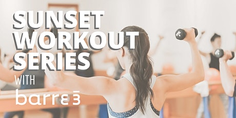 Sunset Workout Series with Barre3 tickets