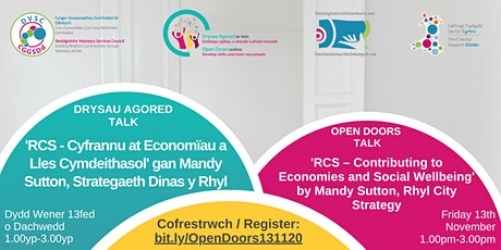 Open Doors Talk 'Contributing to economies and social wellbeing'