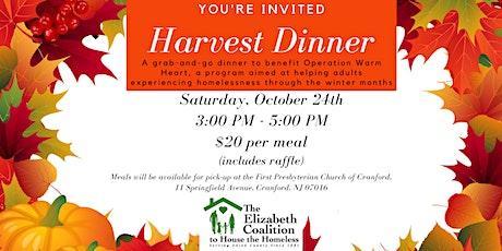 Operation Warm Heart - Harvest Dinner tickets