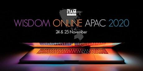 Wisdom Online APAC 2020 tickets