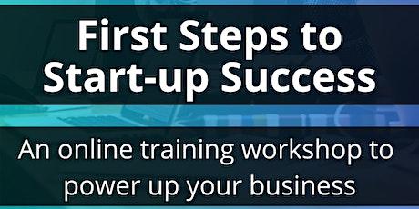First Steps to Start-up Success tickets