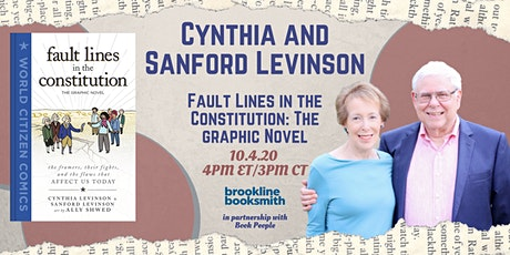Cynthia and Sanford Levinson: Fault Lines in the Constitution tickets
