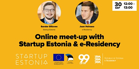 Online meet-up with Startup Estonia & e-Residency tickets