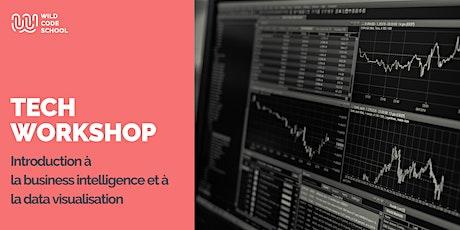 Online Tech Workshop - Intro business intelligence et data visualisation billets