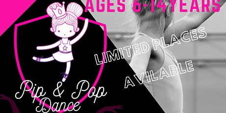Pip & Pop Dance - IPlay Sports 1 day dance camp (Tuesday 27th Oct) tickets