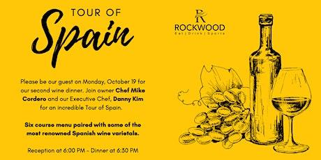 TOUR OF SPAIN - Rockwood Wine Dinner tickets