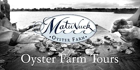 Matunuck Oyster Farm Tour Package tickets