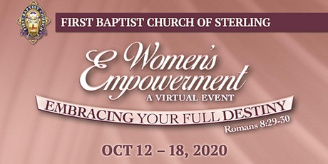 FBC Sterling Presents... Embracing Your Full Destiny tickets