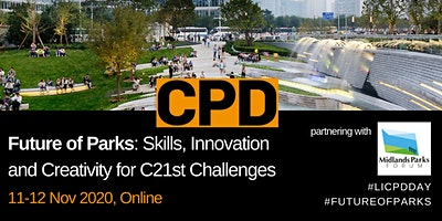 Future of Parks: Skills, Innovation and Creativity for C21st Challenges