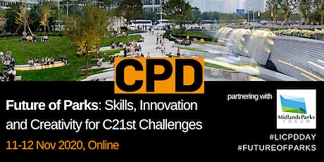 Future of Parks: Skills, Innovation and Creativity for C21st Challenges tickets