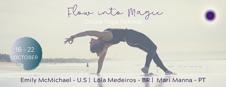 FLOW INTO MAGIC  - ONLINE YOGA IMMERSION image