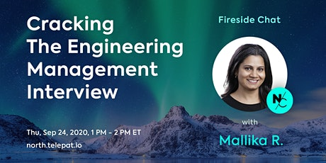 Cracking The Engineering Management Interview with Mallika Rao tickets