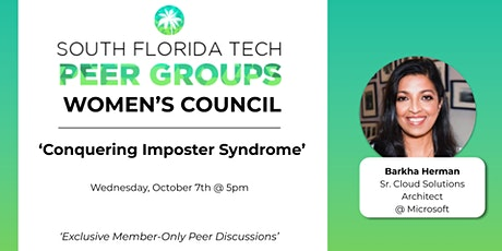 WOMEN'S PEER GROUP | 'Conquering Imposter Syndrome' tickets