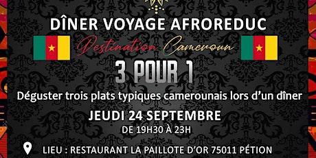 Les Diners Voyage AfroReduc - Cameroun billets