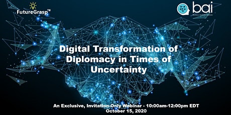 Digital Transformation of Diplomacy in Times of Uncertainty tickets