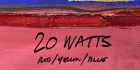 Jim Watt: 20 WATTS Red / Yellow / Blue tickets