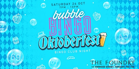 Oktoberfest Bubble Bingo tickets