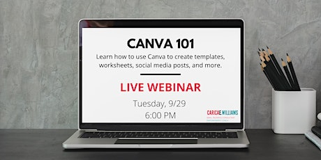 Canva 101: How to Use Canva to Create tickets