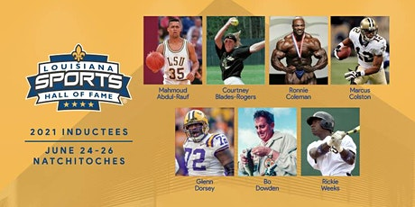 2021 Louisiana Sports Hall of Fame Induction Dinner and Ceremony tickets