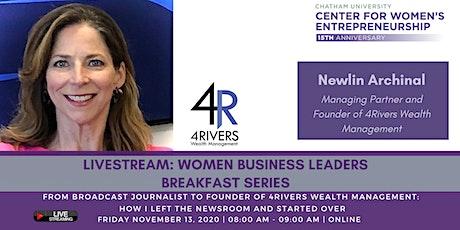 LIVESTREAM: Women Business Leaders Breakfast tickets