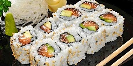 Sushi Making Class tickets