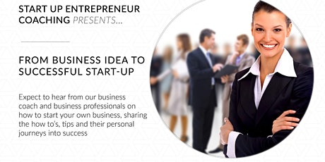 From business idea to successful start-up tickets