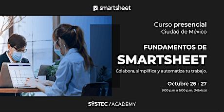 Curso de Fundamentos de  Smartsheet: Colabora, simplifica y automatiza tickets