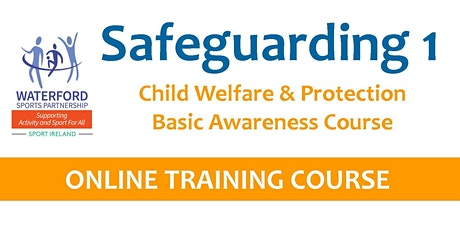 Safeguarding 1 Course - Online - 9th November 2020 tickets