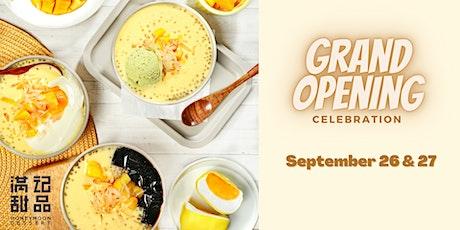 Free Signature Mango Pillows! Honeymoon Dessert Grand Opening Celebration tickets