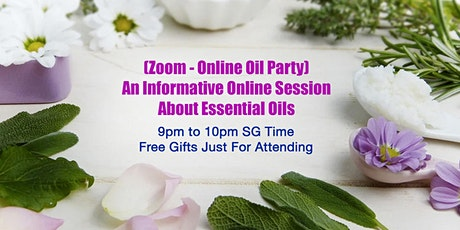 (For Beginner Only) Essential Oils Online Party tickets