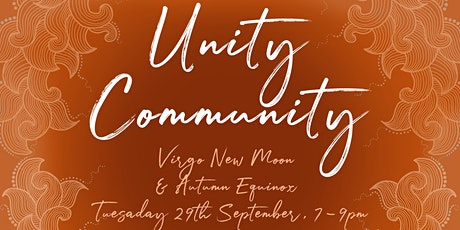 Unity Community: Full Moon & Autumn Equinox tickets