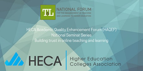 Building trust in online teaching and learning tickets