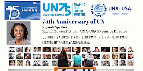 UN75 Past, Present & Progress  Celebration And Award tickets