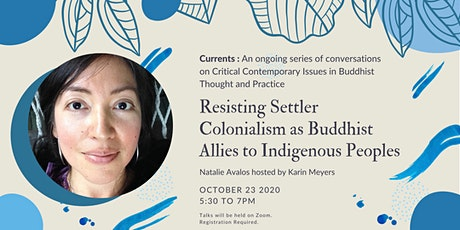 Resisting Settler Colonialism as Buddhist Allies to Indigenous Peoples tickets