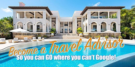 FREE ONLINE EVENT - BECOME A HOME BASED TRAVEL PROFESSIONAL tickets