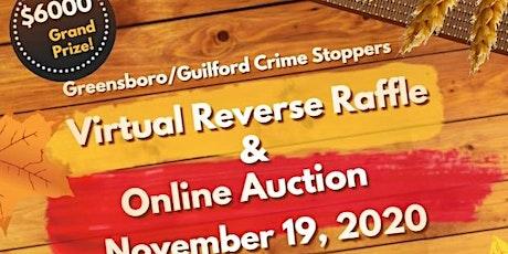 Virtual Reverse Raffle tickets