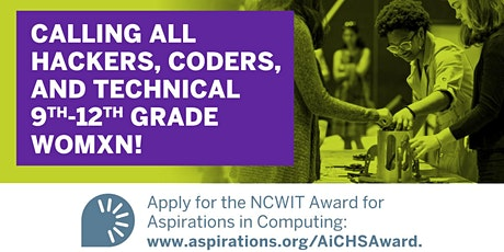NCWIT Award for Aspirations in Computing -Drop-In Informational Session tickets