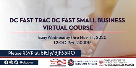 DC Veterans FastTrac Small Business Virtual Course tickets