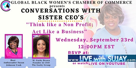 Conversations with Sister CEO's Week 6 tickets
