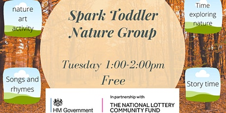 22nd September Toddler Nature Group tickets