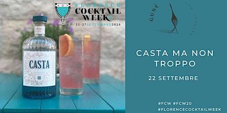 Casta ma non troppo-Florence Cocktail Week biglietti